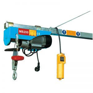 MB200 Mini Electric ამწე, ელექტრო ბერკერი ამწე