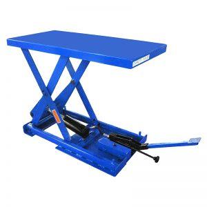 FBX50 სტაციონარული ფეხის ტუმბოს მაკრატლის ასაწევი მაგიდა