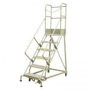 RLC354 სამრეწველო ფოლადის მოძრავი კიბეები